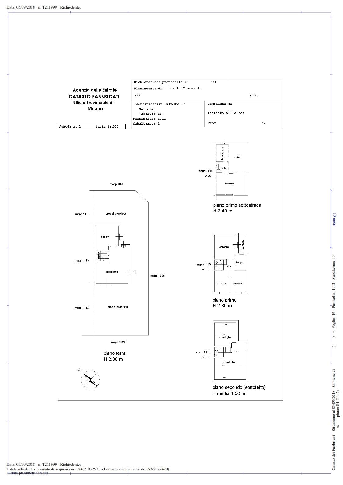Planimetria Casa Con Misure planimetria catastale - informati con la nostra guida