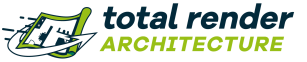 Logo Total render Architecture